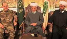 دريان التقى الأمين العام للمجلس الأعلى للدفاع