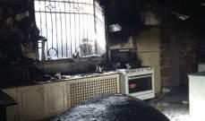الدفاع المدني: إخماد حريق داخل قصر المير في عاليه