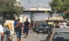 """مصادر للأخبار: الاعتداء على أمين سر قوات """"الصاعقة"""" بالبداوي لرسالة للمخيم"""