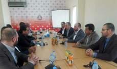 إجتماع قيادي مركزي لحماس والحزب التقدمي الإشتراكي في بيروت