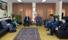 اللواء عثمان استقبل سفير استراليا لمكافحة الارهاب وشخصيات أخرى