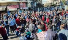 النشرة: اعتصام للتجار وأصحاب المحلات التجارية بسوق صيدا للمطالبة بفتح محلاتهم