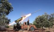 المرصد السوري: قوات النظام السوري والفصائل تبادلتا القصف على محاور التماس في جبل الزاوية وسهل الغاب