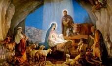 الميلاد من عرش السماء إلى مزود الأرض