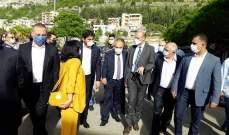 وزير الصحة يزور مستشفى جزين الحكومي ملبيا دعوة النائبين خوري وأسود