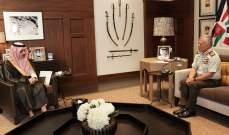 ملك السعودية بعث رسالة شفوية لنظيره الأردني تتعلق بسبل تعزيز التعاون المشترك