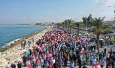خريس في مسيرة لحركة امل في صور: بري أول من حمل هموم الناس والشعب