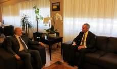 وزير الثقافة استقبل القائم بالأعمال في السفارة الاميركية