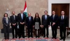 الرئيس عون: نرغب في تعزيز التعاون الاقتصادي والسياحي مع اليونان وقبرص
