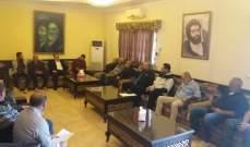 الموسوي التقى وفدا من بلدة السماعية الجنوبية طالبه بإنشاء بلدية مستقلة