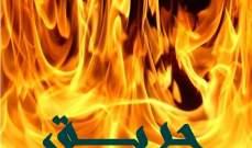 الدفاع المدني: اندلاع حريق في خيمة للنازحين السوريين في قصرنبا