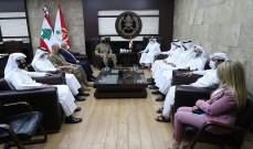 قائد الجيش استقبل السفير القطري في بيروت على رأس وفد