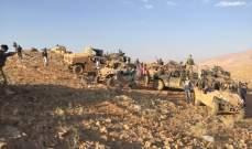 الجيش: تنفيذ عملية إعادة تمركز وانتشار في كامل البقعة المحررة من داعش
