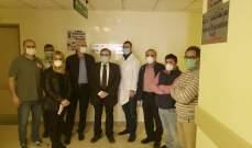 البزري: لمتابعة ملف تأهيل مستشفى صيدا الحكومي مع مجلس الإنماء والإعمار ووزارة الصحة