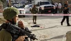 الجيش الإسرائيلي أطلق النار على فلسطيني بالخليل بحجة محاولته تنفيذ عملية طعن