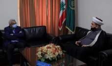 سعد زار المفتي سوسان: على الدولة تأمين التوازن الاعتبارات الصحية والأوضاع المعيشية