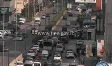 جريح نتيجة تصادم بين سيارة ودراجة نارية على طريق المكلس باتجاه الحايك