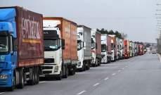 الأناضول: 106 شاحنات أممية محملة بمساعدات إنسانية عبرت تركيا باتجاه إدلب