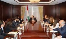 الحريري استقبل ببروكسيل وفدا من جمعيات المجتمع المدني المشارك في مؤتمر دعم مستقبل سوريا والمنطقة