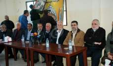 النشرة: ممثلو الفصائل الفلسطينية يبذلون الجهود لوقف الاشتباك في مخيم المية ومية