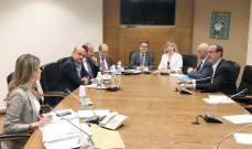 لجنة حقوق الانسان استكملت البحث في موضوع قانون المخدرات