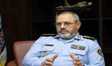 قائد القوى الجوية الإيرانية: أي عدوان على بلادنا سيقابل برد ساحق