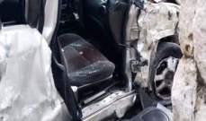 الدفاع المدني: جريحان نتيجة حادث سير في راس نحاش- البترون