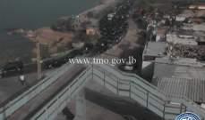 حركة المرور كثيفة على الطريق البحرية انطلياس باتجاه بيروت