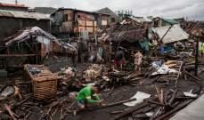 """13 قتيلا في الفيليبين جراء مرور الإعصار """"كاموري"""""""