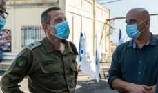 قائد المنطقة الشمالية بإسرائيل: الوضع الأمني لم ينته بعد وسنواصل حالة الجهوزية المعززة
