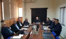 رؤساء اتحادات بلديات عكار طالبوا المسؤولين بحل ازمة أموال البلديات