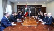الرئيس عون التقى هيل وسوزوكي: نأمل ان يتم تشكيل الحكومة الجديدة قريبا