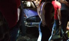 النشرة: جريحان بحادث سير في الرميلة قرب مدخل صيدا الشمالي