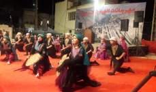 لجنة مهرجانات الهبارية أحيت مهرجانها السنوي في باحة قلعة بعل جاد الاثرية
