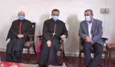 وفد من حزب الله هنأ بالأعياد بمطرانية الروم الكاثوليك ومطرانية صور المارونية