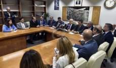 قباني: نتوقع بدء جر المياه الى بيروت من سد بسري عام 2019