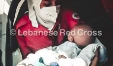 الصليب الاحمر: اسعاف 24 شخصا بعد حريق مخزن في منطقة البداوي