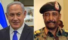 البرهان: الفلسطينيون سيستفيدون من لقائي بنتانياهو