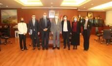 أيوب التقى وفد الفرنكوفونية وبحث تقديم اقتراحات لتطوير التعليم العالي