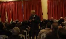 حبشي: نحن في صلب الثورة وهي ليست هي سبب الأوضاع الإقتصادية السيئة