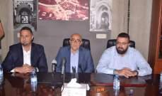 أحمد الحريري: نحن مع كل ما تطلبونه من مساعدة للنهوض بالمدينة