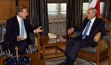 بري عرض مع الموفد الرسمي لرئيس وزراء بريطانيا للعلاقات الثنائية والتقى سفيرة سريلانكا