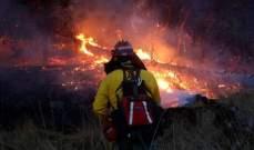لوس أنجلوس تايمز: مقاطعة سانت باربرا تواجه حرائق ولاية كاليفورنيا