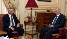 تكتل بري-فرنجية-جنبلاط بمواجهة الثنائي عون-الحريري