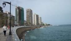 مؤتمر انماء بيروت أكد رفض مشروع الأكشاك على طول الكورنيش