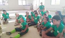 اختتام مخيم العرقوب لكشاف الشباب الوطني