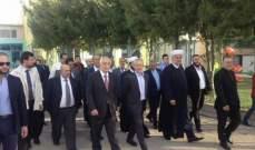 محافظ عكار زار جمعية المشاريع: دليل حضارة ونهج عريق