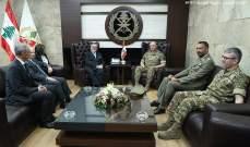 قائد الجيش ونائب وزير الدفاع الإيطالي بحثا بعلاقات التعاون وسبل دعم الجيش