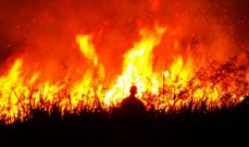 النيران تلتهم مئات الهكتارات في غابات جبال زاغروس في إيران