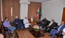 المفتي سوسان: نؤيد المرجعية الدينية ونشدد على التعطيل يوم الجمعة